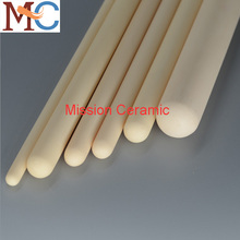 Closed end ceramic tube