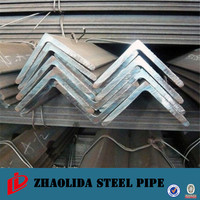 galvanized ss400 q235 equivalent hot rolled mild angle steel mild steel angle bar in china for construction