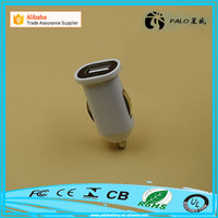 Factory direct sale Mobile phone and Tablet Use 5V 2.1A universal usb power mini new car charger