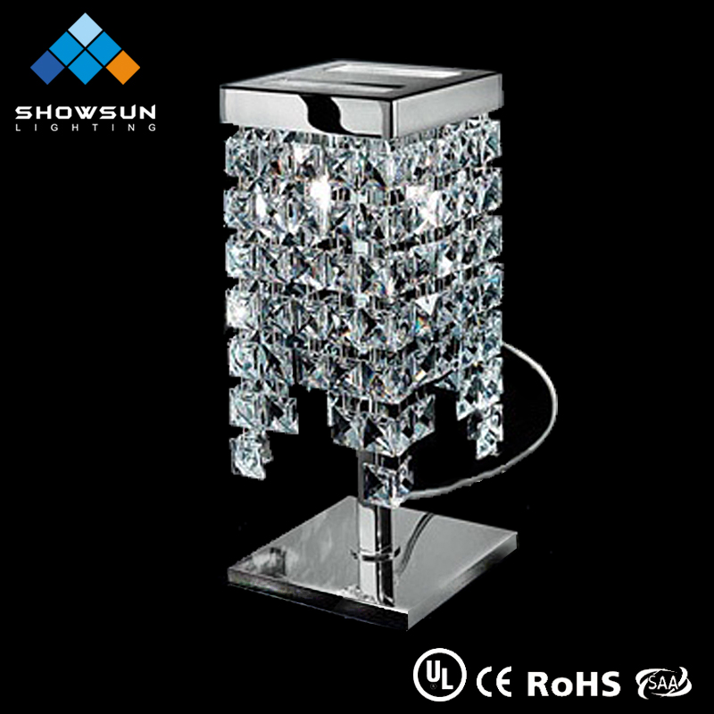 wholesale home goods crystal table lamps for home decor