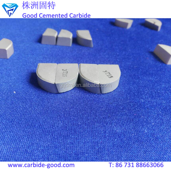 YG6/YG15 Cemented Carbide Brazing Tips for Customized Shape