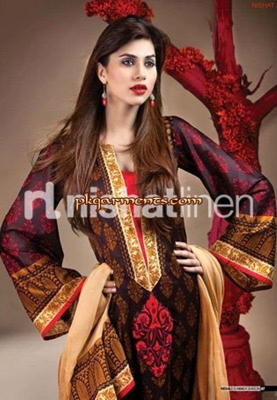 Nishat Summer Lawn Collection 2012