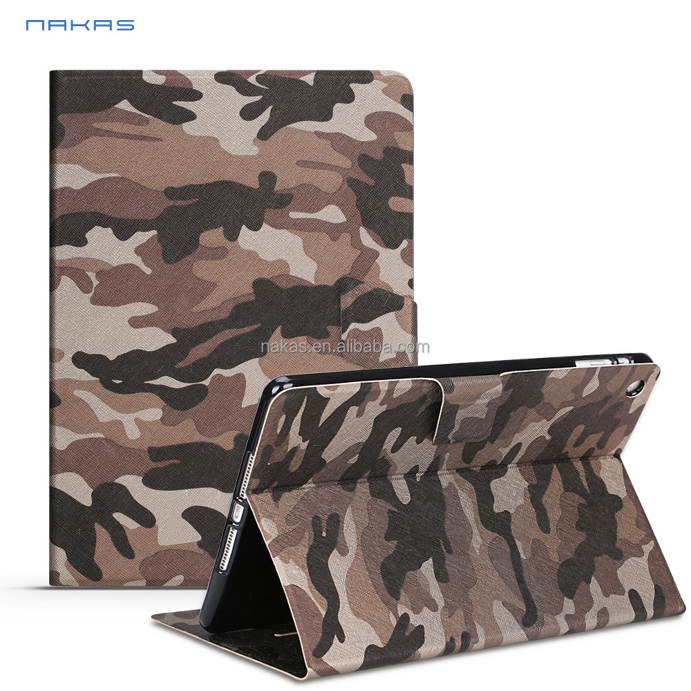 Product Folding Stand Leather Tablet Cover Case for Tablet PC, For Pad Pro Case 12.9 9.7 inch