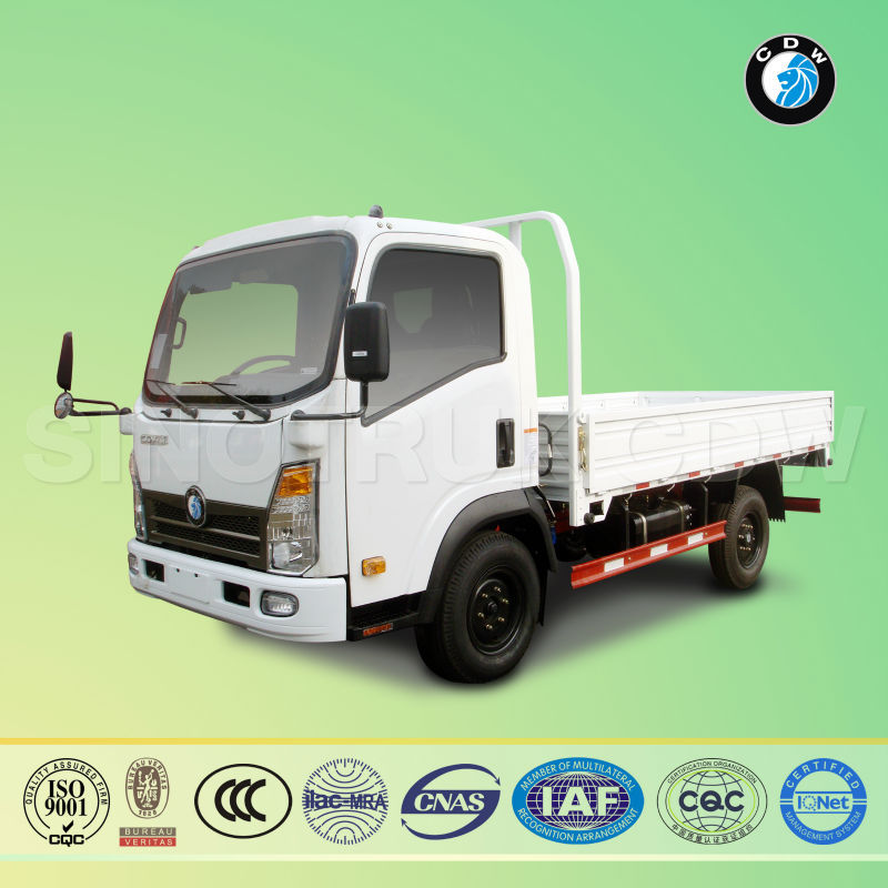 Sinotruk CDW 3 ton cheap heavy load cargo trucks for sale