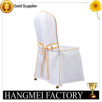 white wedding hot sale popular wedding chair cover