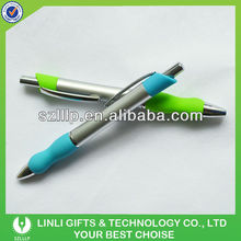 Students stationery ABS Plastic Ball Pen With Smooth Body
