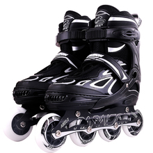 Unisex PU Wheel Roller Skate Led Flashing Inline Skate For Kids
