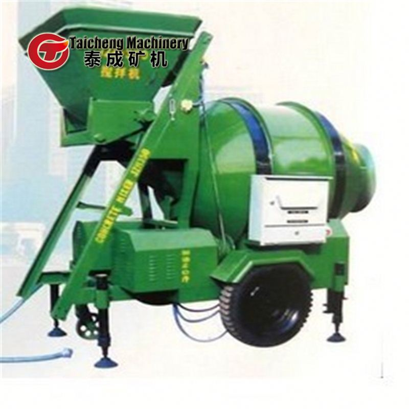 self loading diesel portable concrete mixers