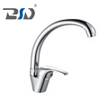 Cheapest Brass Body Single Handle Single Hole Kitchen Sink Faucet