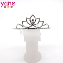 Wholesale metal flower crown headband women wedding headband