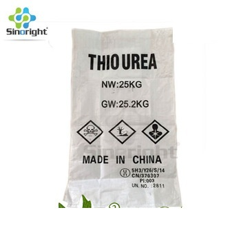 CAS 62-56-6 China supplier Sinoright hot sale Thiourea