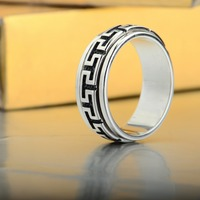 hot sale name carved ring wholesale good ring
