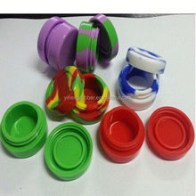 FDA approved silicone customized bho oil container,butane hash oil silicone container