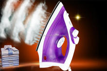 Professional 240v dry battery travel jackpot with CE certificate electric steam iron