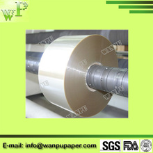 laminating transparent cellophane paper for candle, battery wrapping
