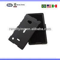 mobile phone accessories belt clip stand cover for nokia lumia 720 case