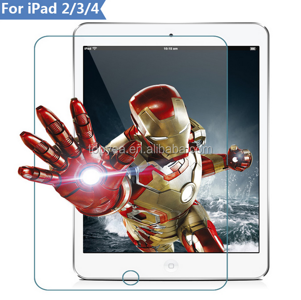 Tempered screen protector for laptop;wholesale screen protector for ipad 2 3 4