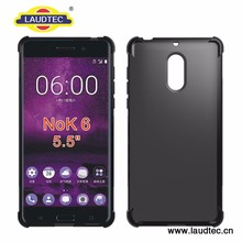 Anti shock clear tpu cover for Nokia 6