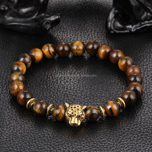 2016 Natural Tiger eye Stone 8mm Beads Jewelry Pray Bracelet For Men Cheap Accessories From China Supplier Reseller