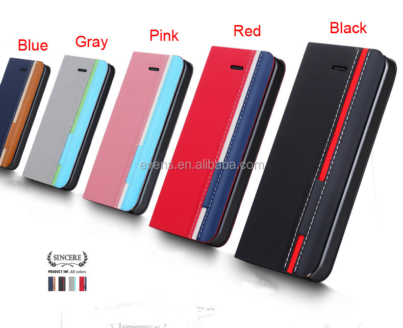 New Arrival Hot Sale PU Leather Wallet Flip Mobile Phone Case Cover For nokia E72