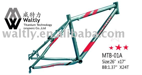 "26"" Mountain titanium Bicycle part-MTB01"