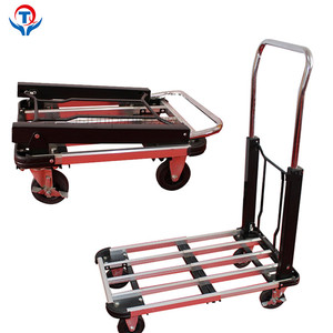 Factory Prices Low MOQ Folding Cart And Trolley Platform Hand Truck
