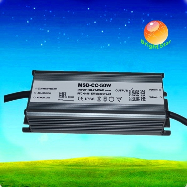 350mA 45W Waterproof Constant Current LED Driver ac to dc Power Supply