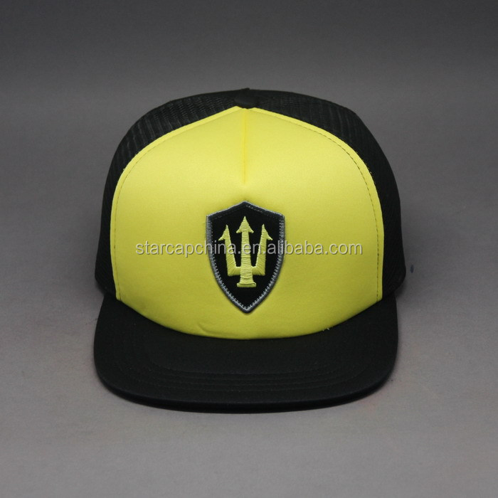 2016 FASHION TRUCKER HAT BLANK LOGO MESH FABRIC