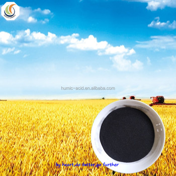 Hot sale water soluble organic fertilizer Sodium Humate powder