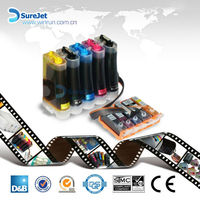 Hot Sales/ Continuous Ink Systems for Canon/ Five Colors/ IP4810 IP4910 MG5210 MG5310 IX6510 (PGI125 CLI126)