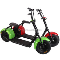 18*9.5 car tyre seev citycoco harley style scrooser 800w brushless mobility scooter for adult electric chopper motorcycle