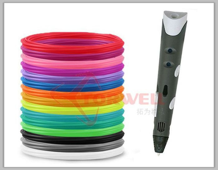 Torwell 1.75mm ABS & PLA 3D pen filament refill kit for 3D drawing pen