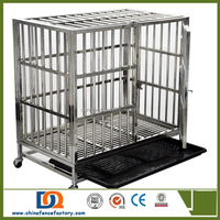 125*95*110cm(LWH)Heavy duty square tube metal Dog crate