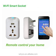 Wifi Smart Home System Remote Control Removable Devices APP Smart Socket
