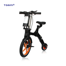 New folding 2 wheel electric mobility scooter travel e bike