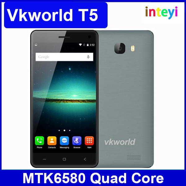 5.0 inch Vkworld T5 MTK6580 Quad Core 3G Smart Phone 2GB+16GB Android 5.1 Camera 8.0MP Dual SIM