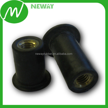 Car Custom OEM Metal Insert Molded Rubber Part