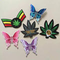 college fashion embroidered cross patches for dress clothes