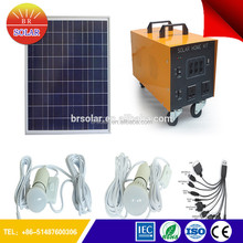 Aluminum Die Casting Body IP65 4kw solar system With Phone Charge