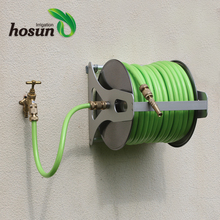Garden Irrigation Heavy Duty Wall-Mounted or hand-held Hose Reel