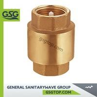 VC600 Brass check&stop valve
