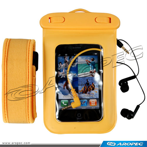 Waterproof Bag with Earphone for Mobile Phone