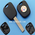 Good Price (Ledy)Peugeot 407 transponder key shell with groove blade