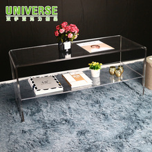 UNIVERSE acrylic coffee table Lucite furniture coffee table acrylic nesting table sets