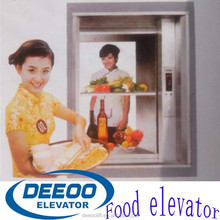 500kg Elevator Chain Lifting Food Dumbwaiter for Hotel