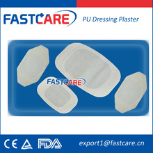 CE Medical Concumable Disposable PU Wound Dressing Strip
