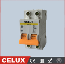 C45N old 2P dc mini circuit breaker 4.5KA 6KA 1P 3P 4P
