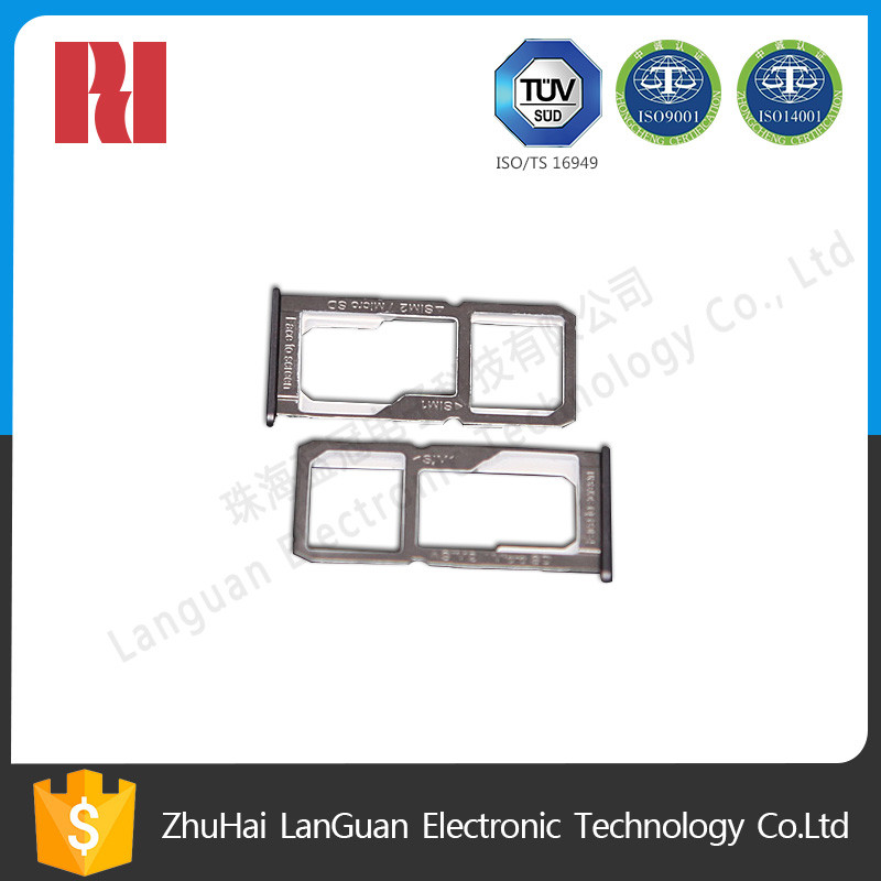 china factory cnc machining aluminum parts sim card slot