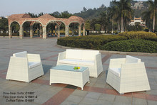 Outdoor Wicker Garden Sofa Set