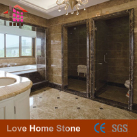 decorative marble pieces,light emperador marble,polished brown marble